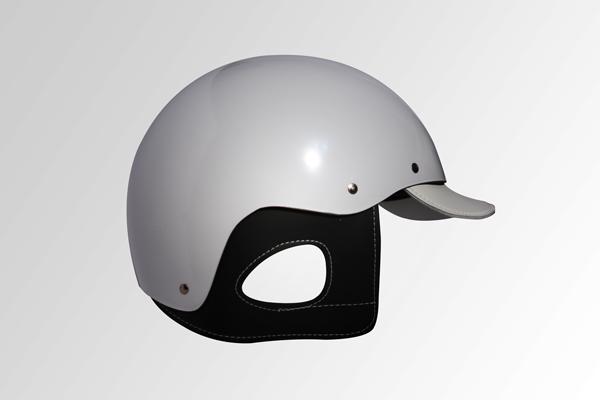 White Grattan Helmet
